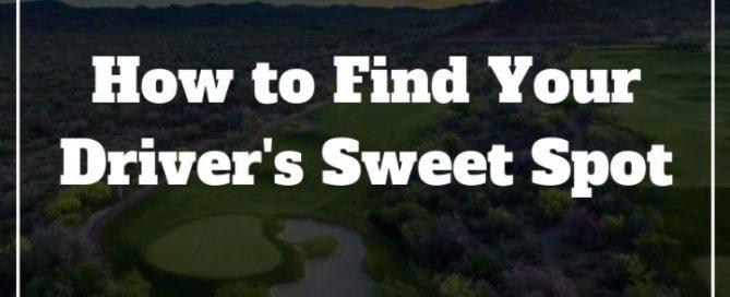golf driver sweet spot