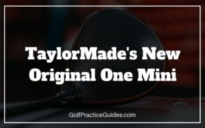 taylormade original one mini review
