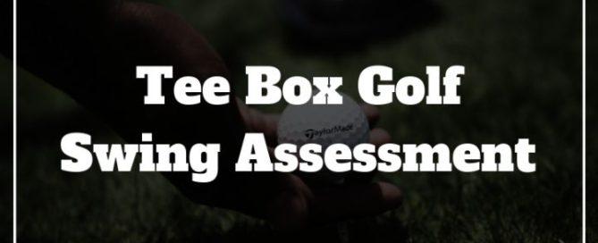 tee box golf swing assessment