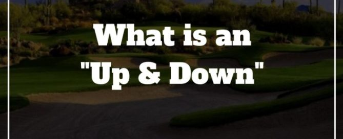 up and down golf term
