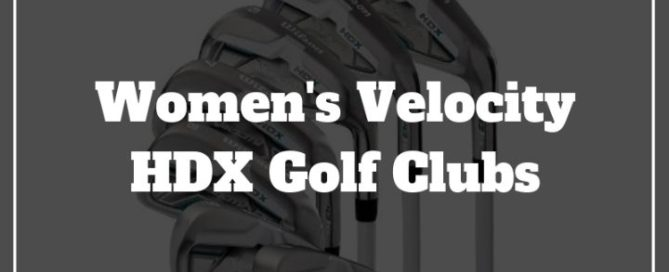 velocity hdx womens golf set