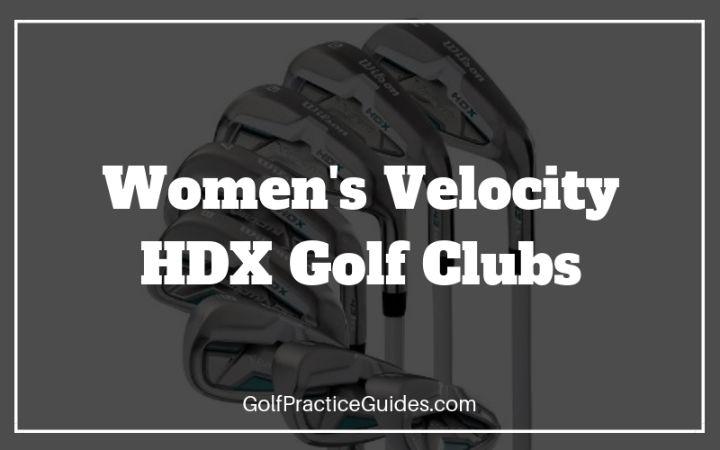 velocity hdx womens golf set