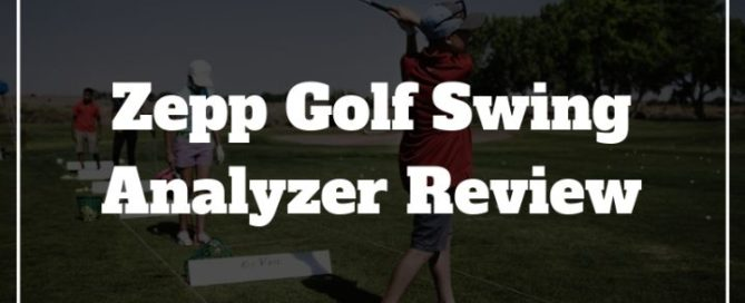zepp golf swing analyzer