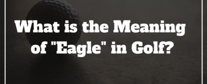meaning of eagle in golf