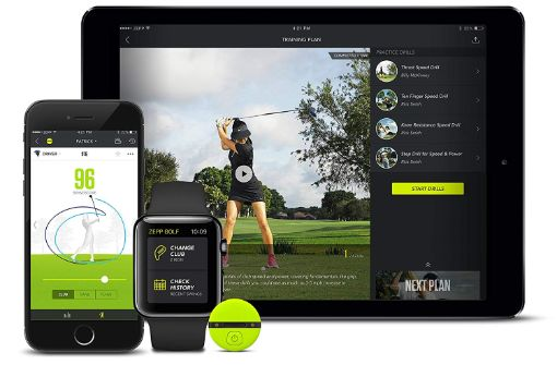 zepp 2 golf swing analyzer