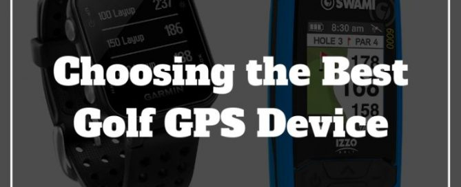 golf gps buying guide