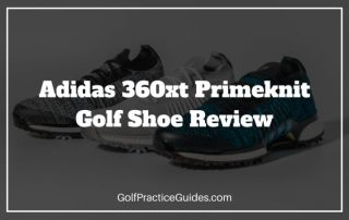 adidas 360xt primeknit golf shoe review