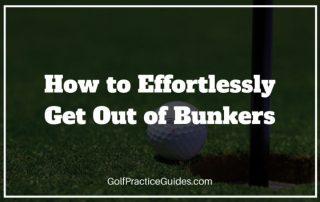 bunker escape shot tips