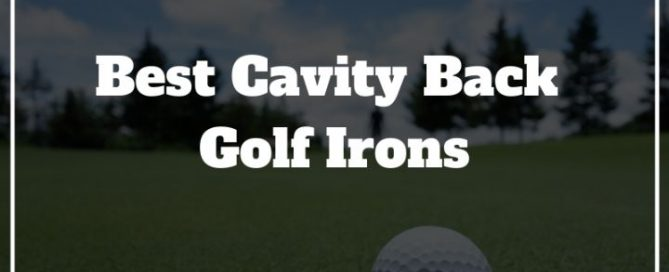 cavity golf irons review