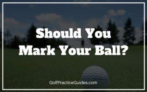 golf ball marking