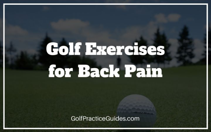 golf exercises back pain