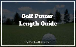 golf putter length