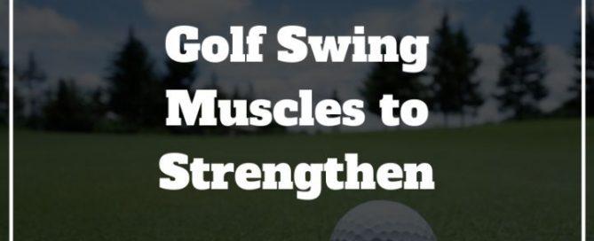 golf swing muscles