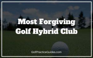 most forgiving golf hybrid club
