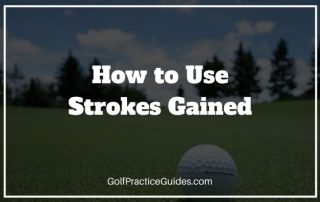 strokes gained golf