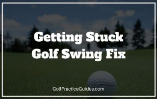 getting stuck golf swing