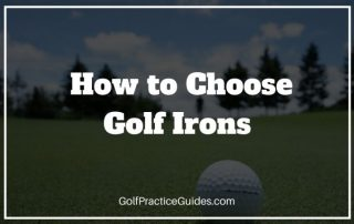 how to choose golf irons